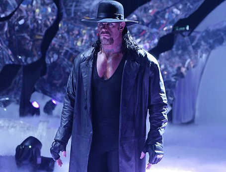 in his career, I don't think we can expect to see The Undertaker
