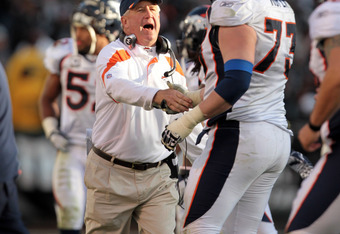 "Broncos coach John Fox has few ""options"" for an offensive game plan."