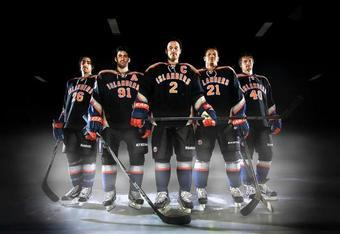 It's hard not to laugh when you imagine the Isles hitting the ice in these. (Photo: New York Islanders website)