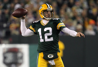 Aaron Rodgers MVP of the 8-0 Green Bay Packers