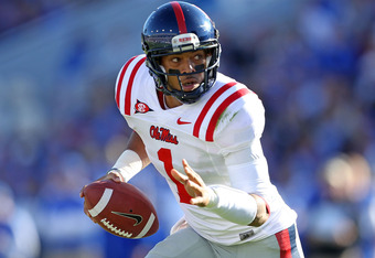 Ole Miss Will Miss Their Starting QB on Saturday