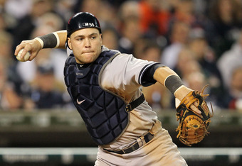 Russell Martin signed a 1 year, $4 million contract and was a big part of the Yankees 2011 season