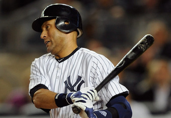 The unbalanced schedule means Derek Jeter and the Yankees make only one appearance per year in Kansas City.