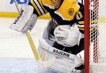 For at least the balance of the 2011-12 season, Tuukka Rask should be kept off limits.