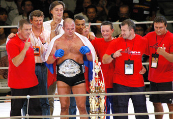 Fedor, in better times, as champion of PRIDE