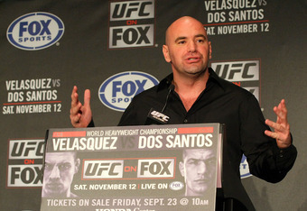 Dana White: Will he ever do busniness with Fedor?