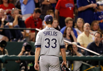 Has Shields thrown his last pitch in Tampa?