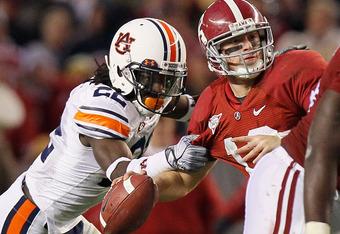 No. 2 Alabama versus No. ? Auburn