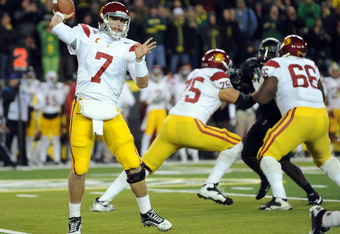 A great night for QB Matt Barkley and the OL