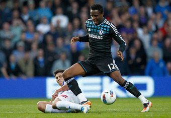 John Obi Mikel: Not Up to Standard