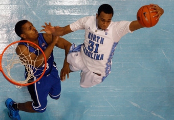 Carolina forward John Henson leads the ACC in rebounding