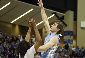 Tyler Zeller led the Tar Heels with 27 points against UNC Asheville