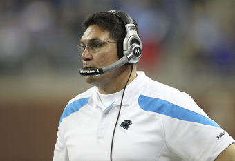 Ron Rivera and his staff were outcoached by the Detroit Lions.