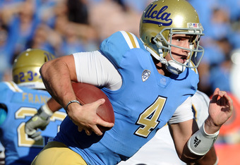 UCLA QB Kevin Prince can run as well as pass