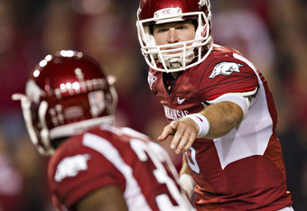 "Can Tyler Wilson and Dennis Johnson lead Arkansas to the CFB ""promise land""?"
