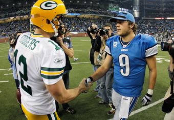Rodgers Reminds Stafford Whose In Charge of the NFC North
