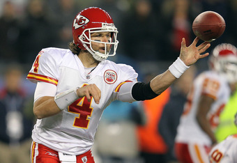 Chiefs QB Tyler Palko will likely be making his second career start in this game.
