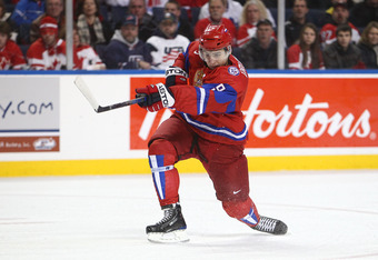 Orlov helped Russia win the Gold at the 2011 World Juniors, and earned a spot on the All-Star team in the process.