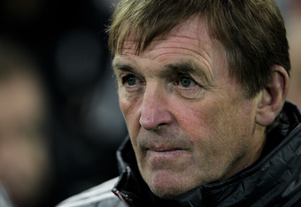 WEST BROMWICH, ENGLAND - OCTOBER 29:  Liverpool Manager Kenny Dalglish looks on prior to the Barclays Premier League match between West Bromwich Albion and Liverpool at The Hawthorns on October 29, 2011 in West Bromwich, England. (Photo by Dean Mouhtaropo