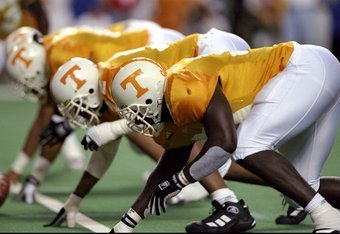The 1998 Tennessee Volunteers.