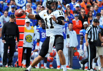 Jordan Rodgers has given the Commodores a national buzz.