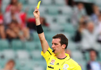 FIFA and Australian A-League referee Peter Green