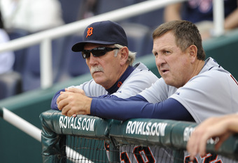 Gene Lamont has been the Tigers' third base coach since 2005.