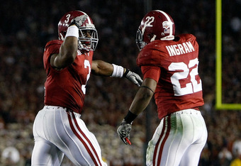 Trent learned a lot from Mark Ingram and the two are still close friends, almost brothers.