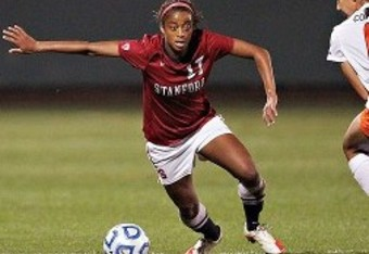 Lindsay Taylor: 20 goals in 24 matches (Rick Bale, Stanford Dept. Athletics)