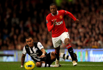 Evra has been a frustrating figure for United fans of late.
