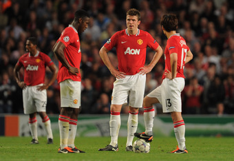 Carrick is all too often the scapegoat for United fans when things dont go to plan.