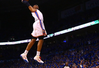 Russell Westbrook is one of the fastest rising stars in the league.