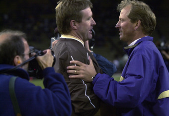 In his coaching career, Koenning played against contemporary coaches like Rick Neuheisel.