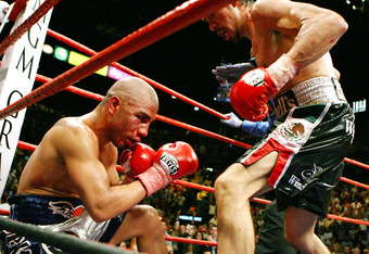 Cotto, left, doesn't want this to happen again.