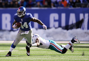 Ahmad Bradshaw is the future of this offense. His style of play fits into the long-term plan