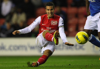 Can The Yak Score More Than Arsenal's Robin Van Persie?