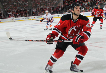 Stephen Gionta scored in last week's contest against Springfield to set an AHL Devils record with 53 career goals.
