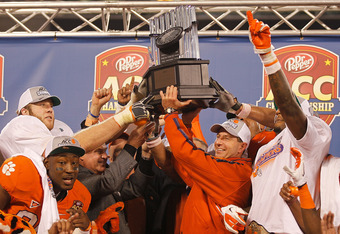 Clemson's win over Va. Tech to capture the ACC Championship may keep TCU out of the BCS