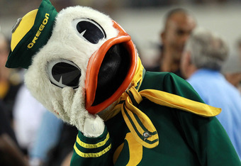 This was how every mascot looked about three quarters in versus LSU this year.