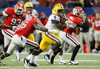 SEC Champions LSU look ahead to a rematch with Alabama