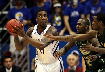 Thomas Robinson will look to lead the Jayhawks to victory against the Buckeyes on December 10.