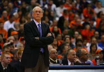 Jim Boeheim, head men's basketball coach at Syracuse University