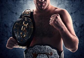 MMA legend Brian Ebersole, holding belts you've never heard of before