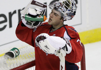 Braden Holtby has established himself as one of the hottest goaltending prospects in the league.
