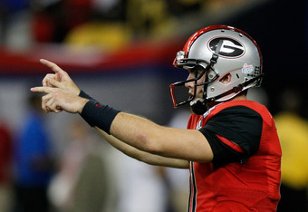 Aaron Murray dominated defenses, tossing 33 touchdown passes as a sophomore.