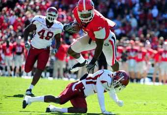 Fans will have to wait and see if All-SEC tight end Orson Charles will stay in Athens.