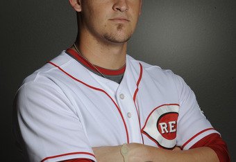 GOODYEAR, AZ - FEBRUARY 20: Yasmani Grandal #73 of the Cincinnati Reds poses during the Cincinnati Reds photo day at the Cincinnati Reds Spring Training Complex on February 20, 2011 in Goodyear, Arizona. (Photo by Rob Tringali/Getty Images)