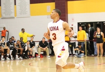 Scott Machado had 19 for Iona (K.Kraetzer)