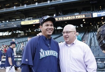 Mariners need support for their Ace! Felix Hernandez and GM Jack Zduriencik
