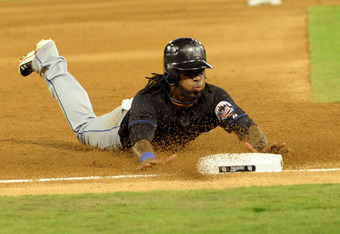 Coincidentally, this photo was taken in a game AGAINST the Marlins.